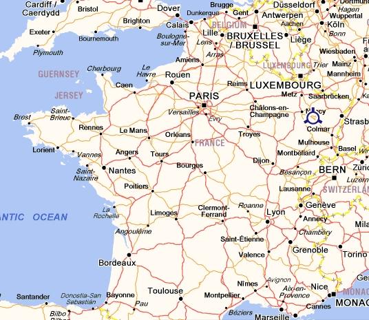 Ville De L Est De La France